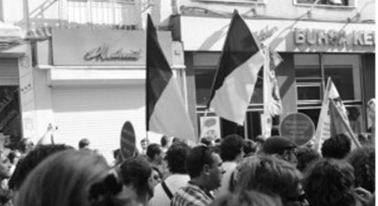 devrimci anarşist faaliyet anarcho-queer kara-pembe
