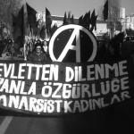 Anarşist Kadınlar tüm kadınları 11 Martta Kadıköy mitingine çağırıyor