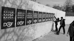 Solgun 1 Mayıs Afiş Çalışmaları İStanbul Kadıköy Ayrlıkçeşme