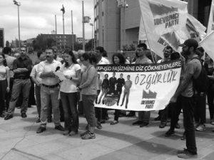 Devrimci parti Basın açıklaması DAF 1