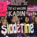 25 Kasım Kadına Yönelik Şiddetle Mücadele Günü Yürüyüşü