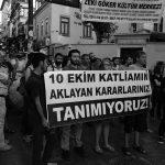 10 Ekim Katliamı Davası'ndan Çıkan Karara Karşı Kadıköy'de Eylem Düzenlendi