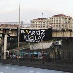 Anarşist Gençlik'ten Pankart Eylemi :  ARSIZ KIZILAY