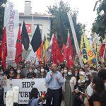 HDP'ye Yapılan Gözaltı Operasyonlarına Karşı Kadıköy'de Eylem Vardı