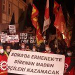 İstanbul'da Somalı Madencilerle Dayanışma Eylemi Gerçekleştirildi