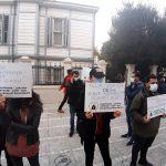 Kafe ve Bar İşçileri Akp19 Yasaklarına Karşı Eylem Gerçekleştirdi (English Below)