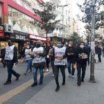 İstanbul Newrozu için, Avcılar, Şirinevler ve Kartal'da ortak bildiri dağıtımı gerçekleştirdi.