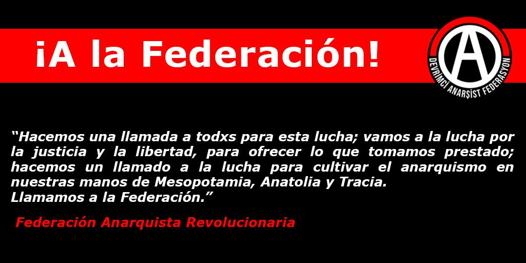 ¡A la Federación!
