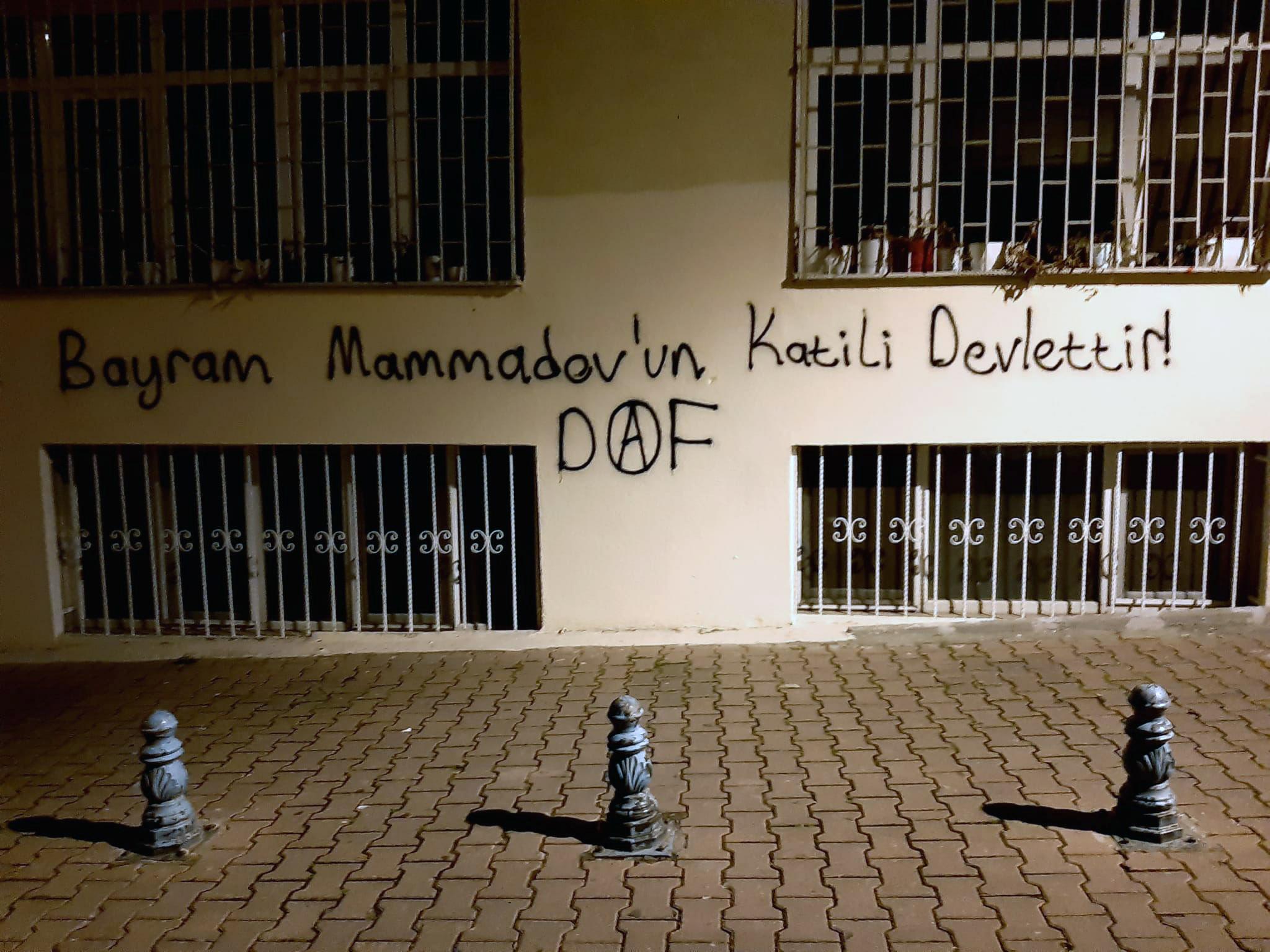Ankara ve İstanbul'da Bayram Mammadov İçin Yazılama