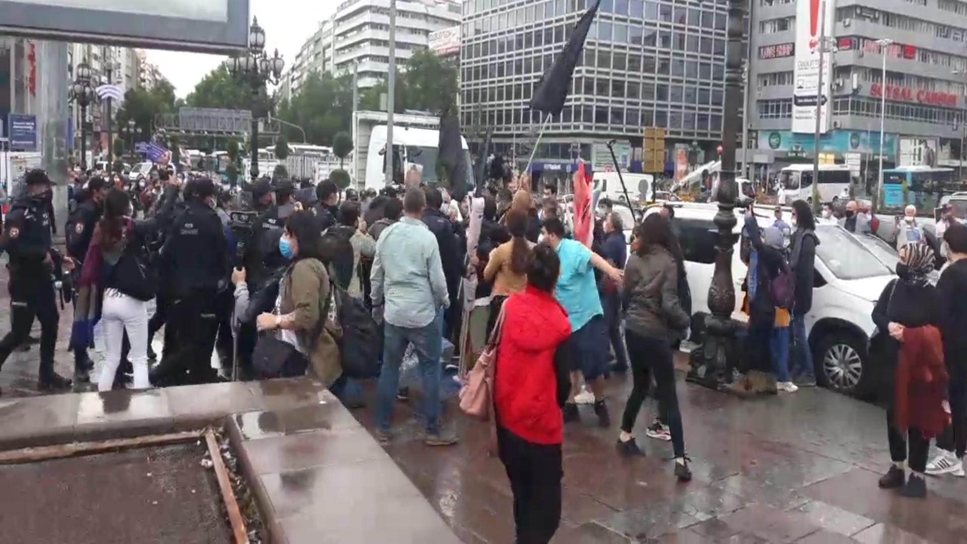 Ankara'da Taksim Direnişi'nin 8. Yılında Sokaktaydık