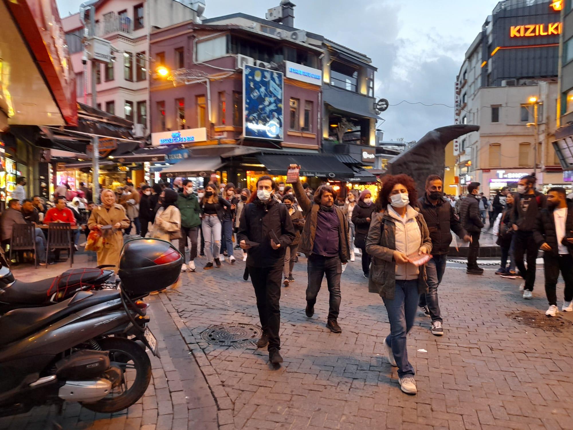 İstanbul Emek Demokrasi Güçleri: 10 Ekim'de Kadıköy'e Çağırıyoruz!