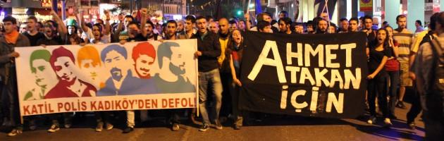 Ahmet için, Özgürlük için Sokaklardayız