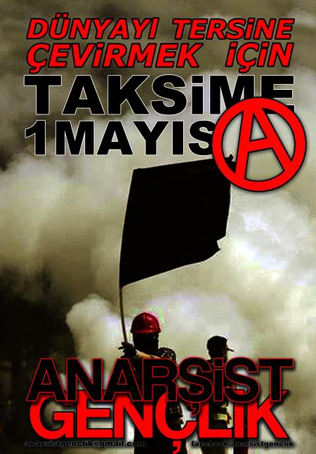 Dünyayı Tersine Çevirmek için 1 Mayıs'ta Taksim'e