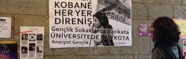 Gençlik Sokaklarda Barikata Üniversitelerde Boykota