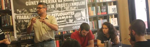 Yoldaş Jose ile Güney Amerika'da Anarşizm Paneli Gerçekleştirildi