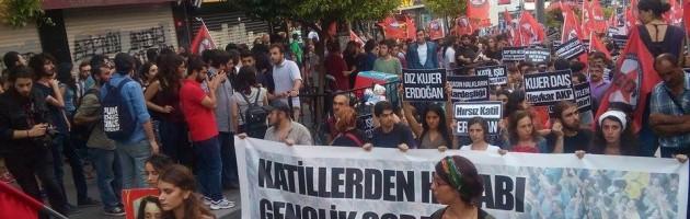 Barış İçin Gençlik Yürüyüşüne Polis Saldırısı