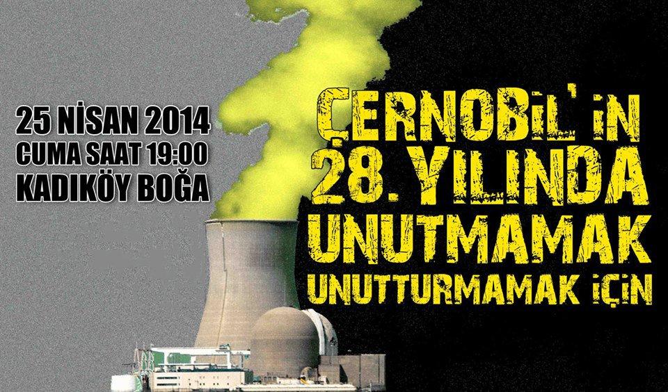 Çernobil'in 28. Yılında Unutmamak Unutturmamak İçin