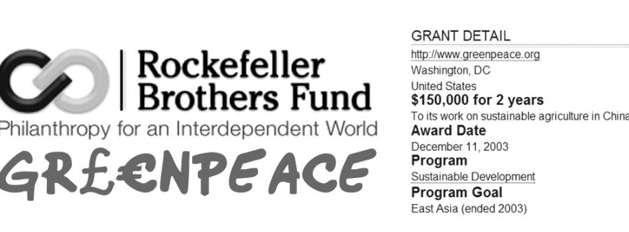 """""""Greenpeace 5,2 Milyon Doları Yok Etti"""""""